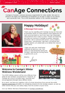 December newsletter 2020