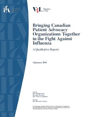 Bringing Canadian Patient Organizations Together in the Fight Against Influenza cover